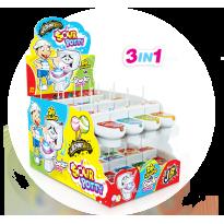 Sour Potty Chupa y Moja WC 24 Unidades