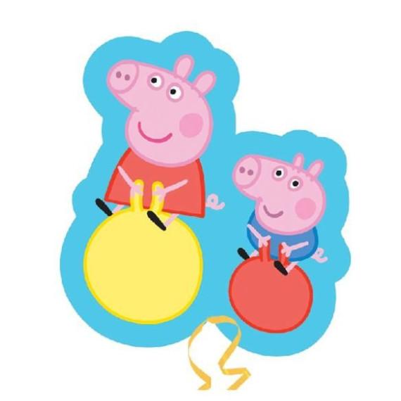Peppa Pig George Saltarines   Globo Grande