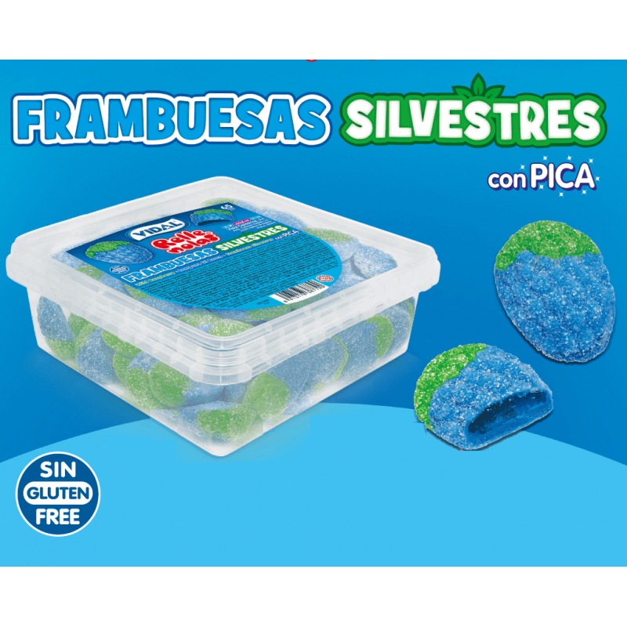 Frambuesas Silvestres Pica Rellenolas 65 Unid VIDAL