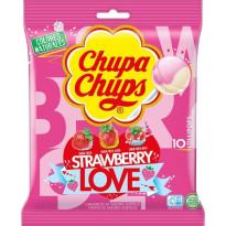 Chupa Chups Strawberry Love 10 Unid