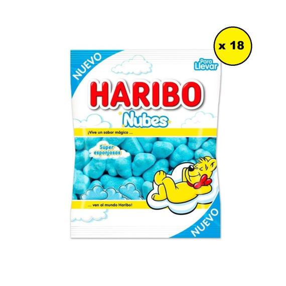 Nubes Azules HARIBO  Pack 18*80 Gr