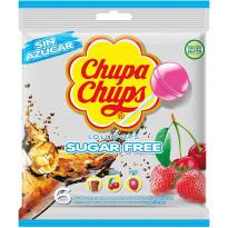 Chupa Chups SUGAR FREE 6 Unidades Bolsa