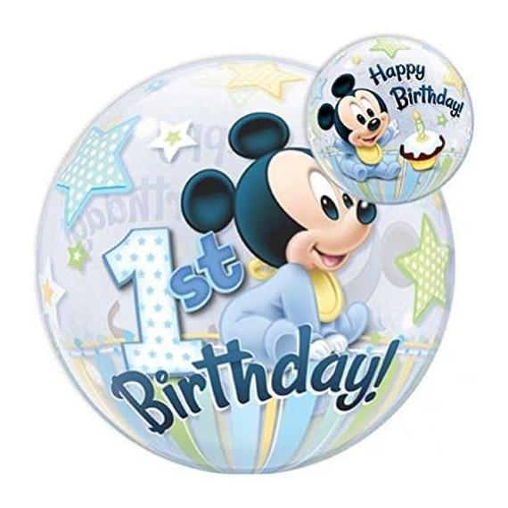 Mickey 1 año Baby DISNEY   Globo Redondo