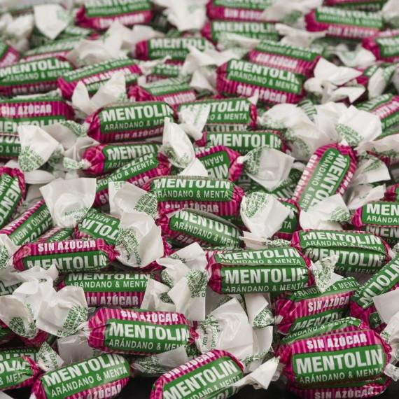 Mentolín Arándano Sin azúcar  1 Kg