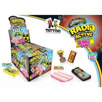 Radio Active Tattoo Bubble Gum Tattoo 200 Unidades