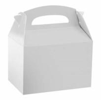 Caja Fiesta Blanca Lisa  12 Unid