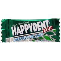 HAPPIDENT- Chicle sin Azúcar - Sabor Clorofila