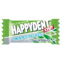 HAPPIDENT - Chicles sin azúcar-hierbabuena