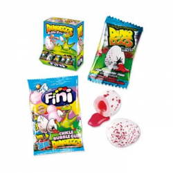 Dino Eggs Chicle FINI 200 Unid
